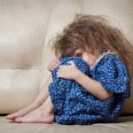 Sad little girl. — Stock Photo #9723829