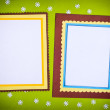 Royalty-Free Stock Photo: Frame made ​​of paper