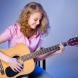Girl with guitar — Stock Photo #9877099