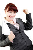 Successes in business — Stock Photo