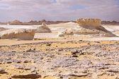 White desert,Egypt — Stock Photo