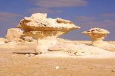 White desert statue — Stock Photo