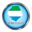 SierrLeone Round Button — Stock Vector #8833629