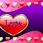 Love Heart Background — Stock Vector #8833897
