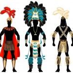 Постер, плакат: Male Carnival Costumes