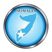 Somalia Round Button — Stock Vector