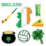 Ireland Icons 2 — Stock Vector