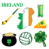 Ireland Icons 2 — Stock Vector