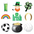 Stock Vector: Ireland Icons 2