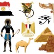 Stock Vector: Egypt Icons