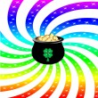 Royalty-Free Stock Vectorielle: Rainbow Sparkle Pot