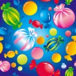 Sweets and sugar candies — Imagen vectorial