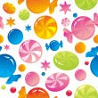 Sweets and sugar candies — Vector de stock