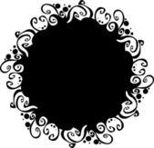 華やかな抽象的なシルエット — ストックベクタ