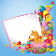 Children's birthday — Stock Vector #9160824