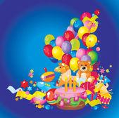 Children's birthday — Stock Vector