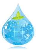 Environmental protection — Stock Vector