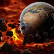 Planet earth Apocalypse — Stock Photo #10336996