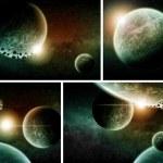 Planet earth Apocalypse pack — Stock Photo