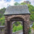Stock Photo: Entrance gate is to ancient castle. Burg Eltz in Germany