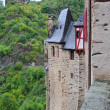 Stock Photo: Towers of lock of Eltz in Germany