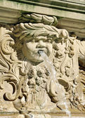 Bas-relief, detail to the fountain, Frankfurt am Main, Germany — Stock Photo