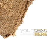 Old beige canvas — Stock Photo