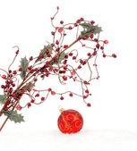 Kerstmis boordmotief — Stockfoto