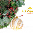 Christmas festive decoration - Stock Photo