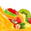Fruit mix — Stock Photo #9208481