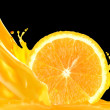 Orange juice — Stock Photo #9208520
