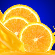 Orange juice — Stock Photo #9208528