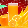 Orange juice — Stock Photo #9208542