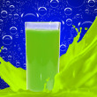 Juice in glass — Stock Photo