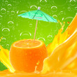 Orange juice — Stock Photo #9208574