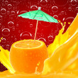 Orange juice — Stock Photo #9208578