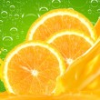 Orange juice — Stock Photo #9208619