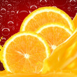 Orange juice — Stock Photo #9208623