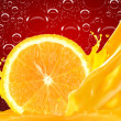 Orange juice — Stock Photo #9208673