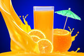 Orangensaft — Stockfoto