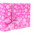 Pink gift box — Stock Photo