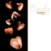 Chocolate candy — Stock Photo