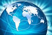 La mejor representación de la internet global — Foto de Stock
