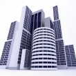 3D buildings - Stock Photo