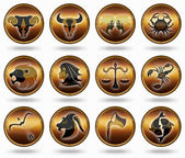 Set astrology sign. — Stock Photo