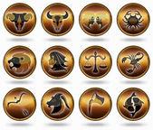 Set astrology sign. — Stock Photo