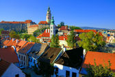 Cesky Krumlov view — Stock Photo