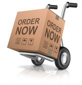 Order now webshop icon — Stock Photo
