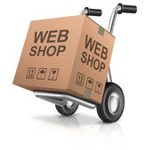 Web shop — Stock Photo