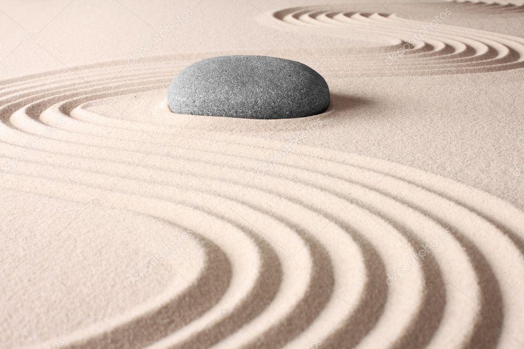 Jardim zen japonês — Fotografias de Stock © kikkerdirk #10102547